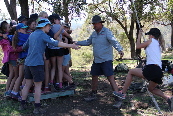 Grou Initiatives at Camp Kokoda