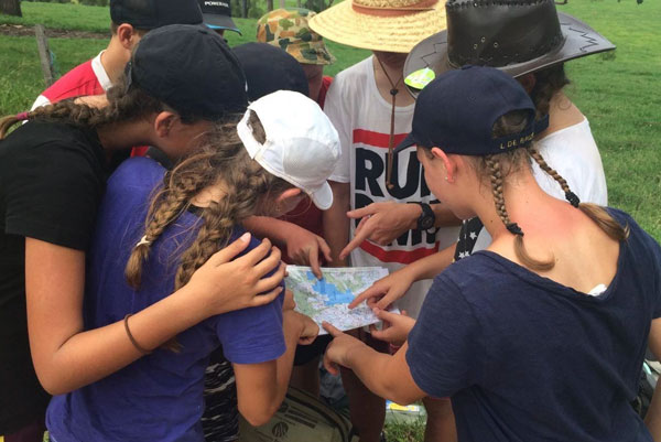 Orienteering at Camp Kokoda